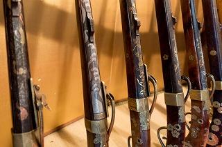 鉄砲の装飾